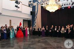 Первый тост - «За Е.И.В. Великую Княгиню Марию Владимировну!»