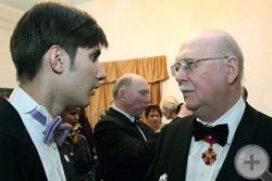 Князь РДС Г.Г.Гагарин и Вице-Предводитель Молодёжного общества РДС Д.Д.Шебалин