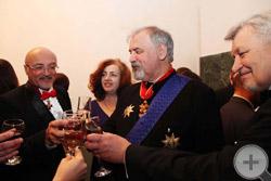 Герольдмейстер С.В.Думин: «Господа, выпьем же за праздник!»