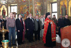 Молебен о здравии членов Дома Романовых