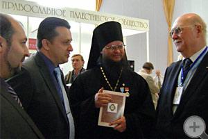 Предводитель РДС князь Г.Г.Гагарин с участниками форума