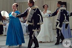 Открытие танцевальной программы Бала потомков