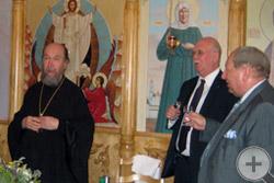 Встреча с митрополитом Казанским и Татарстанским Анастасием