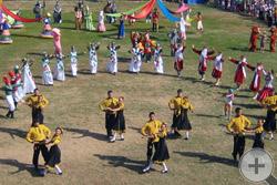 Художественная часть церемонии закрытия Спасской ярмарки
