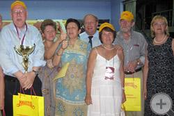 Команда князя Г.Г.Гагарина выиграла турнир по боулингу
