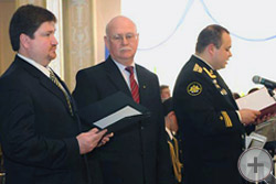 Предводитель РДС князь Г.Г.Гагарин