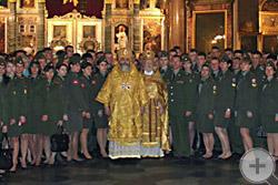 В Казанском кафедральном соборе