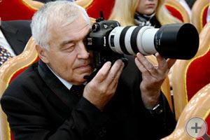 В.Д. Конев, фотокорреспондент, член РДС