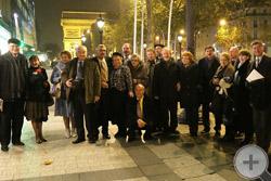 Большая и представительная делегация членов Российского Дворянского Собрания
