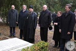 Панихиду по почившим героям Отечественной войны 1812г. провёл иеромонах Никон