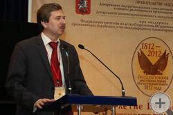 В.И.Алявдин, председатель Общества потомков участников Отечественной войны 1812г.
