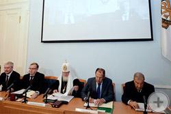 Президиум заседания Совета ИППО