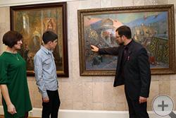 Новая картина И.Г.Машкова «Призвание на царство Михаила Фёдоровича Романова в 1613 году»
