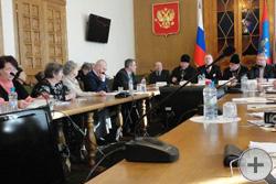 Участники «Круглого стола» «Монархическая идея в XXI веке»