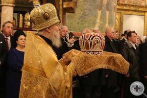 Патриаршее служение в день 400-летнего юбилея Династии Романовых