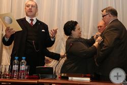 Награждение С.В.Мироненко