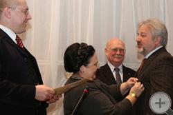Награждение М.Ю.Лермонтова
