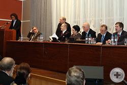 Приветствие Комитета по делам общественных объединений и религиозных организаций ГД оглашает О.В.Ефимов