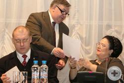 С.В.Мироненко передаёт Её Императорскому Высочеству приветствие от академика РАН С.П.Карпова