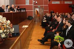 Государыня Великая Княгиня Мария Владимировна обращается к участникам конференции