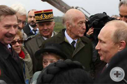 Встреча делегации Общества с Владимиром Путиным