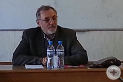 Возобновлена работа Научной секции Департамента науки РДС.  Председательствовал Сергей Юрьевич Житенёв