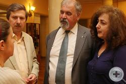 Графиня Е.В.Апраксина, В.И.Алявдин и С.В.Думин с супругой
