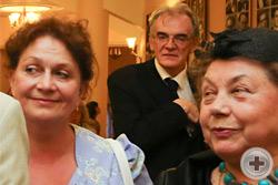 Первый Советник Посольства Сербии Момчило Зекович в окружении дам РДС