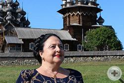 Глава Дома Романовых на острове Кижи