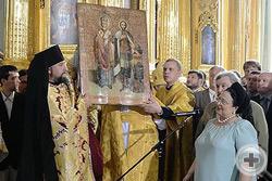Икона святителя Николая Чудотворца и святого благоверного князя Александра Невского