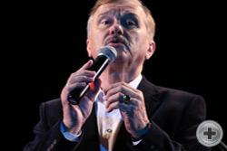 Выступление заслуженного артиста России Леонида Серебренникова