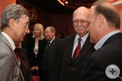 Князь Г.Г.Гагарин, Посол В.И.Кузьмин (слева) и О.В.Блюдов