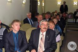 Зал во время заседания Совета