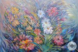 Н.Баженова. Вальс цветов. 2013, х.,м.