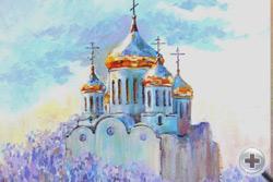 А.Ремыга. Золотые купола. 2012, х.,акр.