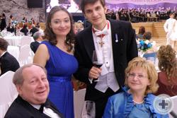 «Романов бал».  Члены РДС на балу, посвящённом 400-летию Династии Романовых