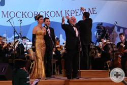 Председатель Оргкомитета бала Н.И.Уколов объявляет о его открытии