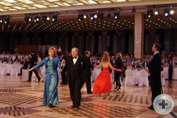 Полонез. Вице-Предводитель РДС А.Ю.Королев-Перелешин с супругой