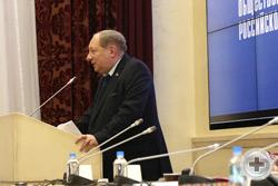 Выступает Первый Вице-Предводитель РДС А.Ю.Королев-Перелешин