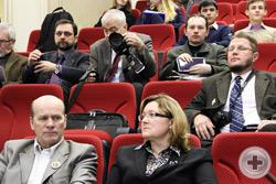 Председатель Ассоциации художников РДС И.Г.Машков и председатель секции фотохудожников В.Д.Конев
