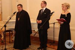 Слово председателя Синодального отдела Московского Патриархата по взаимоотношениям Церкви и общества протоиерея Всеволода Чаплина