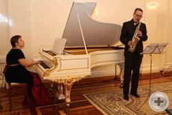 Играет «Золотой саксофон Латвии» Ник Шеффер