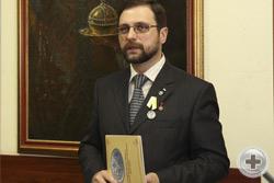 И.Г.Машков презентует свою новую картину