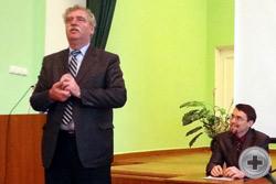 Приветствие Руководителя Управления культуры г. Воронежа Ивана Петровича Чухнова