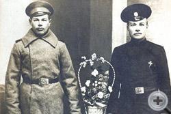 Нижние чины 124-го пехотного  полка
