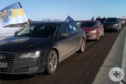Красноярское Дворянское Собрание выступило одним из организаторов автопробега «Сибиряки – Крыму»