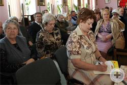 Секретарь Съезда Н.М.Орлова ведёт протокол