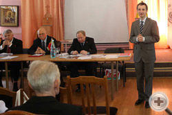 Выступление нового Предводителя РДС О.В.Щербачева