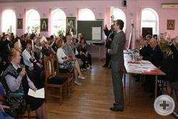 Делегаты голосуют единодушно: Совет Объединённого Дворянства на новое трёхлетие избран