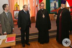 Преосвященный Епископ Выборгский и Приозёрский Игнатий, управляющий Западным викариатством города Москвы приветствует Съезд